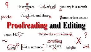 Editing and proofreading services in Uganda